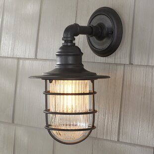 Online Reviews Combe Outdoor Wall Sconce By Birch Lane™