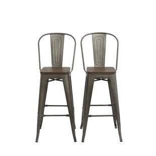 Isamar 30 Bar Stool (Set of 2) by Williston Forge