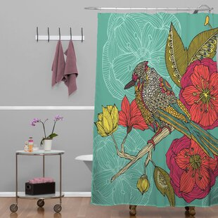 Deepak Contented Constance Single Shower Curtain