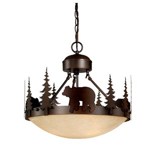 Loon Peak Jensen 3-Light Bowl Pendant