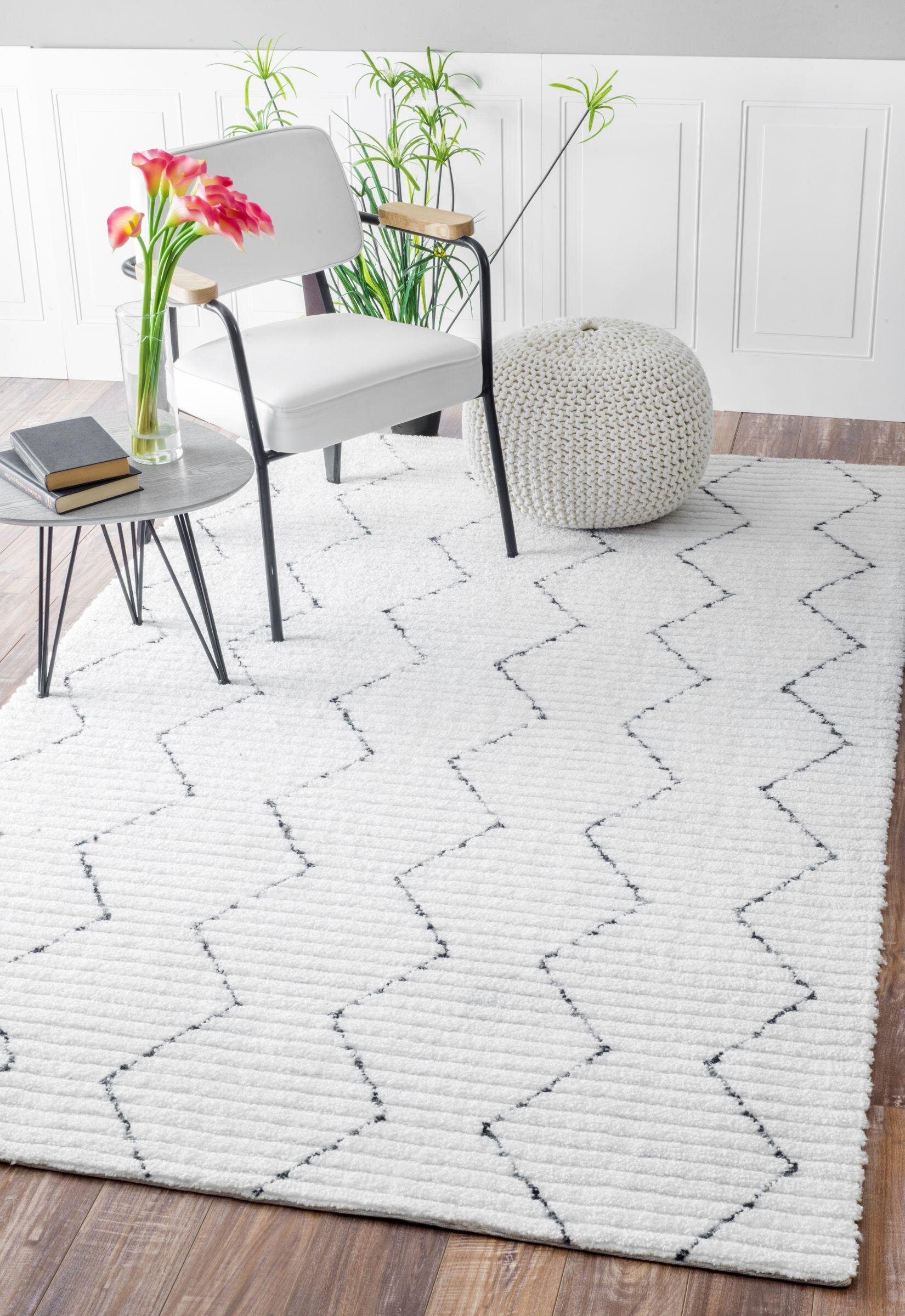Polyester White Area Rugs You Ll Love In 2021 Wayfair