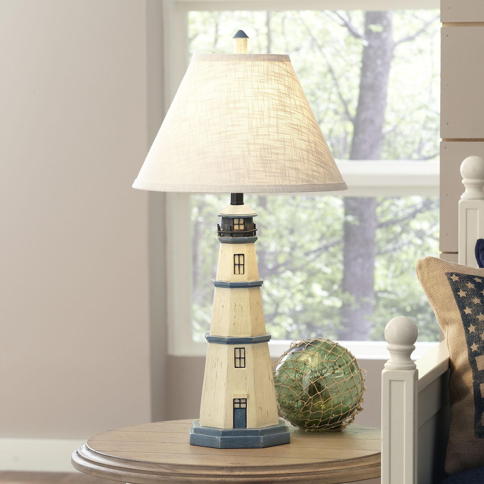 Lighthouse table lamp reviews birch lane aloadofball Gallery