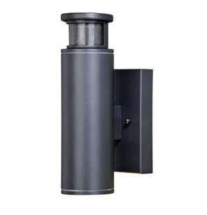 Bulgera LED Outdoor Wall Lantern with Motion Sensor
