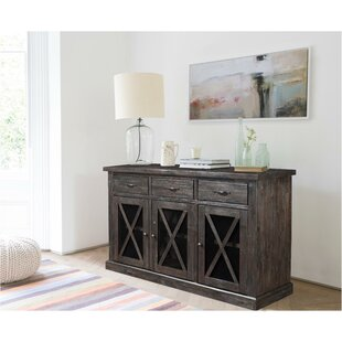 Blayze Rubberwood Sideboard Gracie Oaks