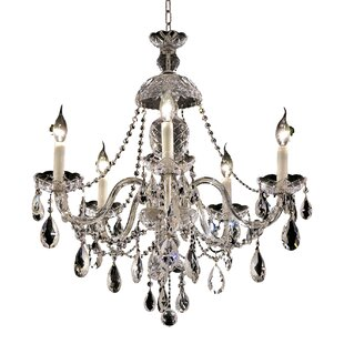 Astoria Grand Schroeppel Traditional 5-Light Candle Style Chandelier