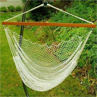 Nylon Rope Chair Hammock by Algoma Net Company