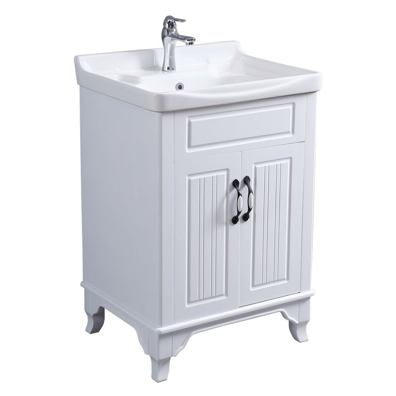 Charlton Home Maciel 24 Single Bathroom Vanity Set Reviews Wayfair