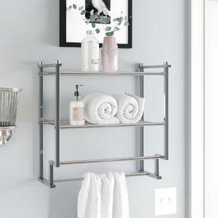 Bathroom Hanging Shelves Wayfair