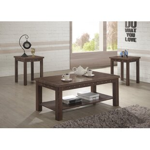 Gracie Oaks Urias 3 Piece Coffee Table Set