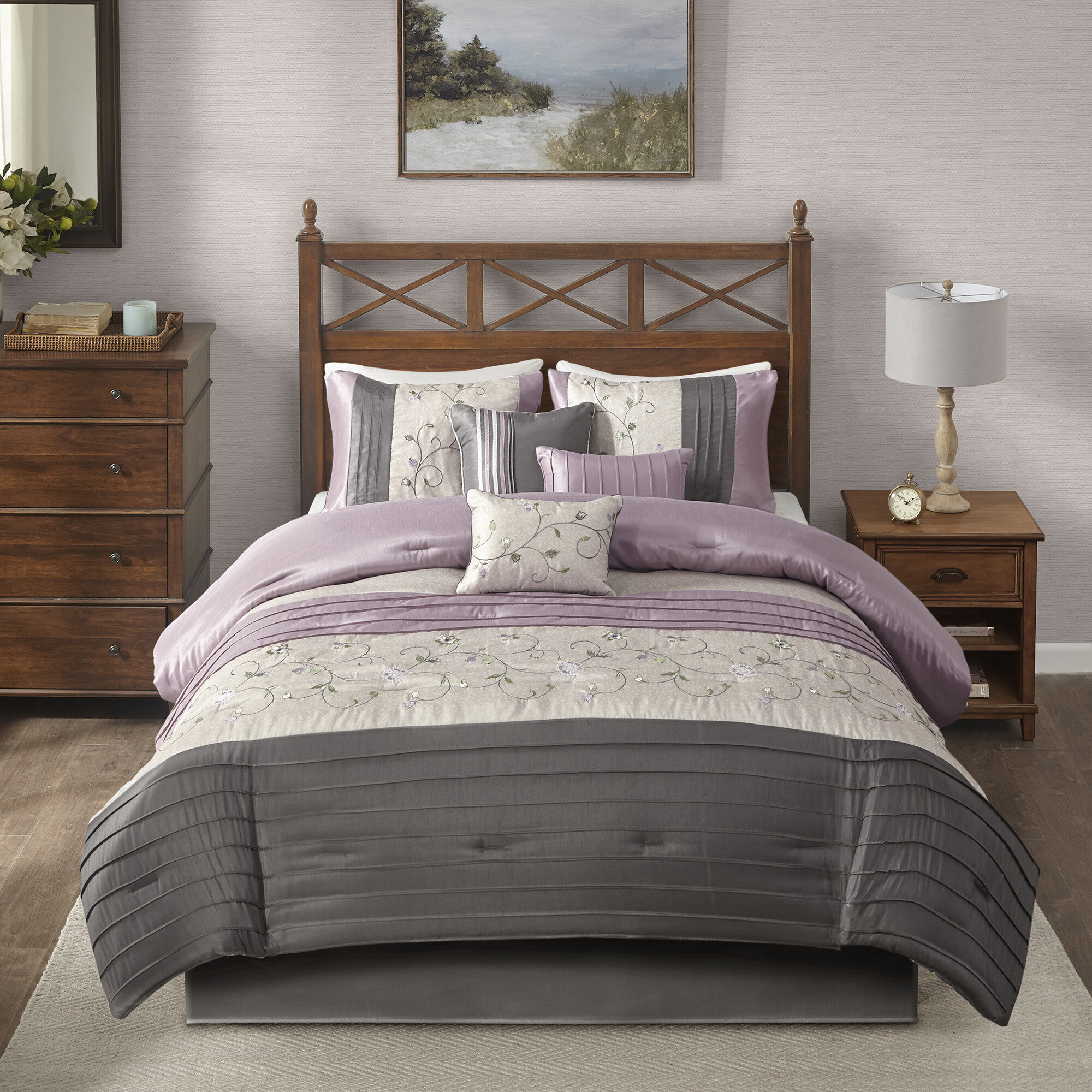 Purple Set Comforters Sets You Ll Love In 2021 Wayfair