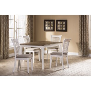 Silsden 5 Piece Dining Set August Grove