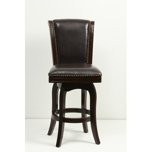 Kobe 29 Swivel Bar Stool by Charlton Home Today Sale Only