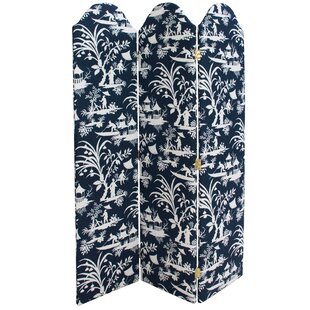 Griselda 3 Panel Room Divider by Bloomsbury Market