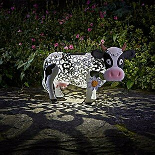 Harpersville Solar Powered Cow Image