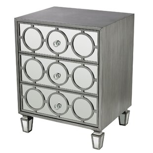 Apollo 3 Drawer Accent chest by Mercer41