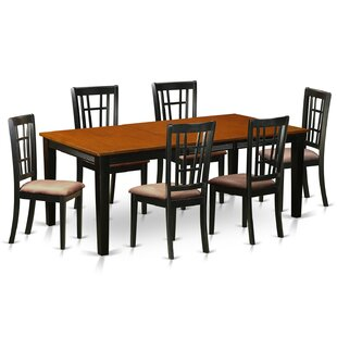 Pilger 7 Piece Extendable Dining Set by August Grove #1