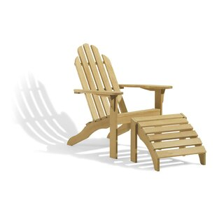 Cornman Wood Adirondack Chair (Set of 2)