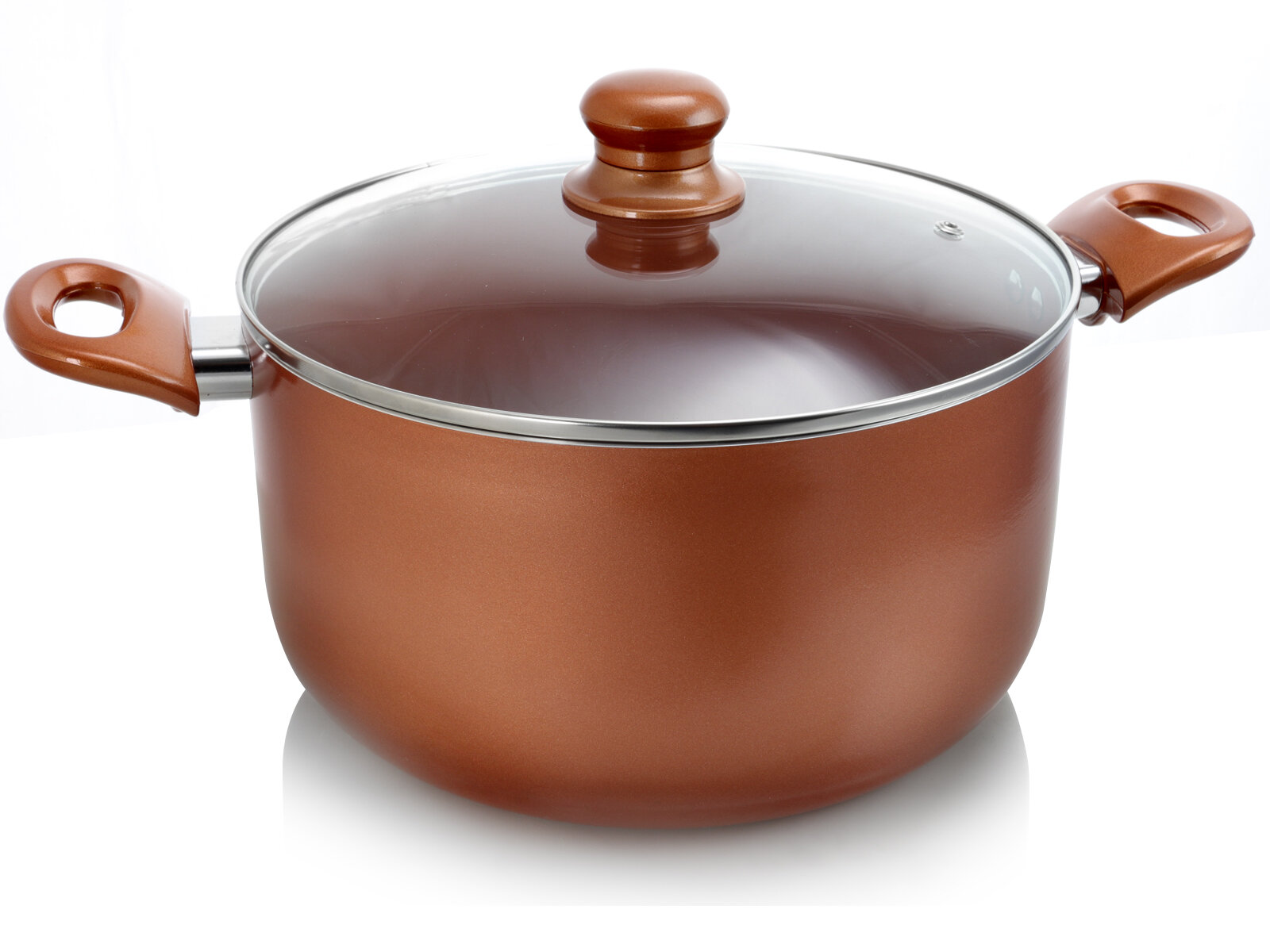 Better Chef 10 Qt Ceramic Coated Round Dutch Oven With