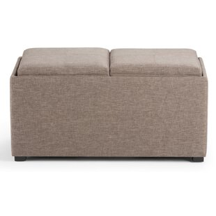 Allon 5 Piece Storage Ottoman by Alcott Hill