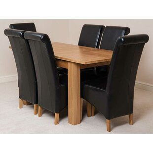 Riback Kitchen Dining Set With 4 Chairs By Rosalind Wheeler