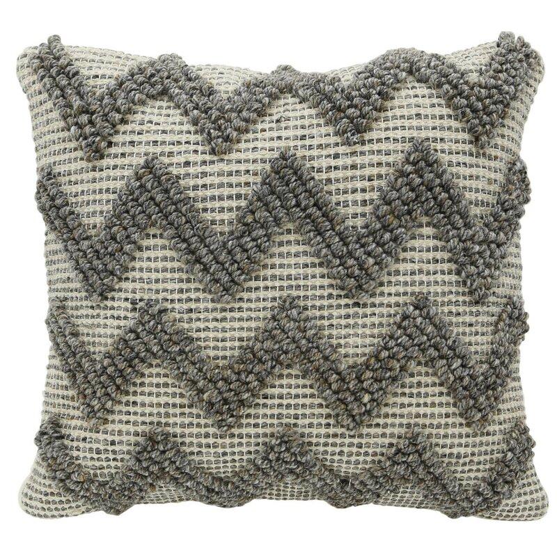 Edaoura Chevron Zig Zag Scatter Cushion