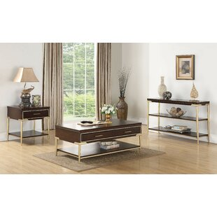 Odis Living Room 3 Piece Coffee Table Set