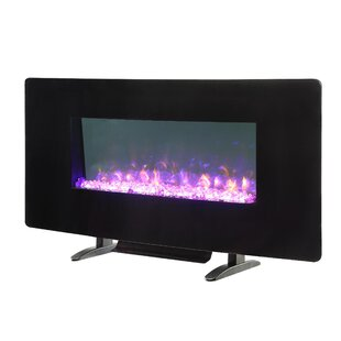 LED Wall Mounted Electric Fireplace by Firefly