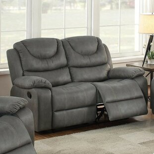 Winston Porter Paramus Breathable Reclining Loveseat