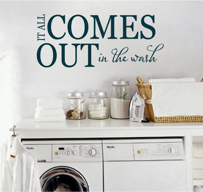 all comes out in the wash