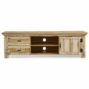 Fairhaven Solid Wood TV Stand for TVs up to 65 by Rosecliff Heights