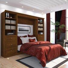 Acevedo Full/Double Wood Frame Murphy Bed by Latitude Run