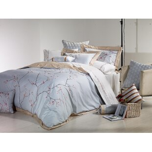 Sakura 3 Piece Duvet Cover Set