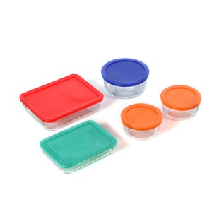 Dish 5 Container Food Storage Set