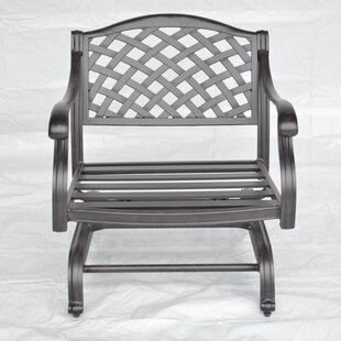 Darby Home Co Nola Patio Chair with Cushion