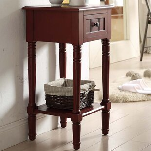 Wilbourn 1 Drawer End Table by Charlton Home