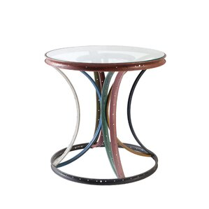 Bicycle Rim Assorted End Table by Phillips Collection