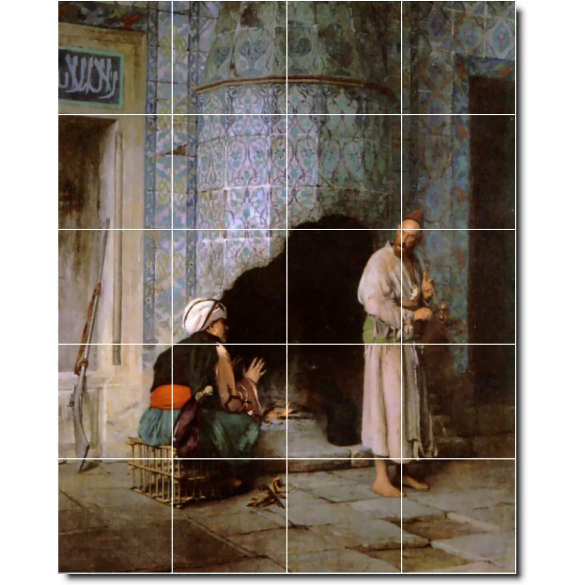 Picture Tiles Com 17 X 12 75 Ceramic Ivan Aivazovsky Waterfront Painting Decorative Mural Tile 23 4 25 X 4 25 Set Of 12 Wayfair