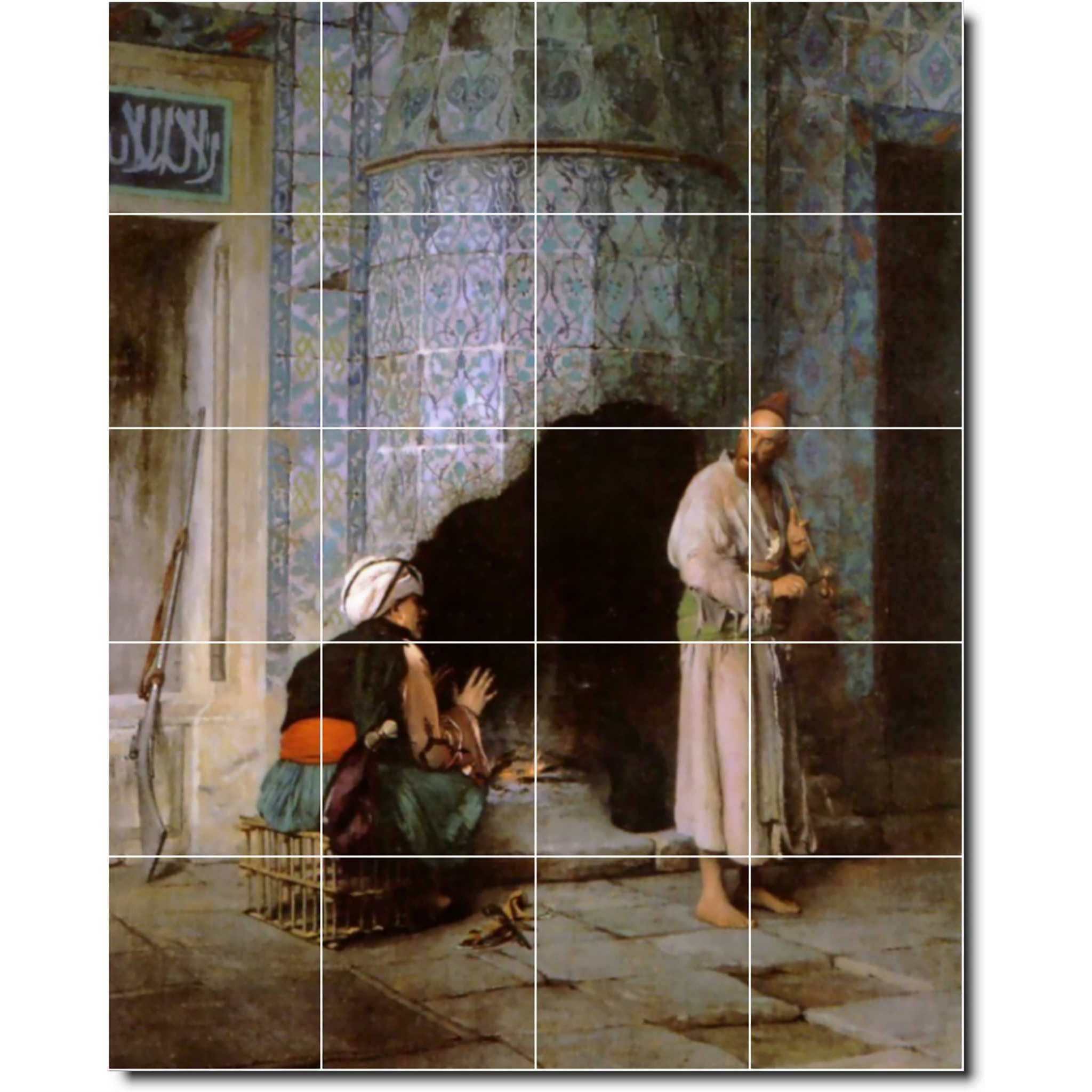 Picture Tiles Com 25 5 X 17 Ceramic Lawrence Alma Tadema Nude Painting Decorative Mural Tile 137 4 25 X 4 25 Set Of 24 Wayfair