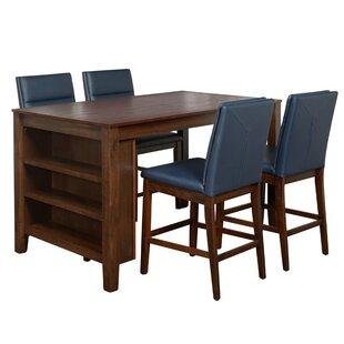 Manawa 5 Piece Pub Table Set