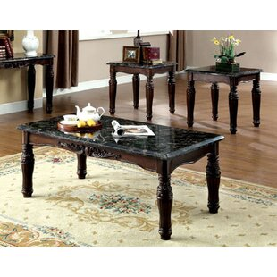 Astoria Grand Arcadia 3 Piece Coffee Table Set