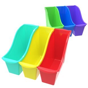 Shop For Book Stackable Cubby Bin (Set of 6) By Storex