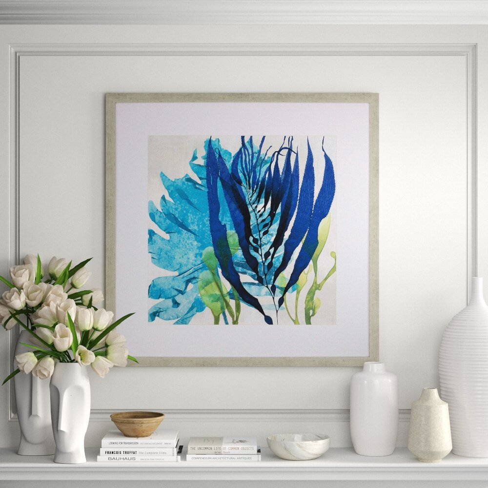 Paragon Sea Nature Ii By Miller Picture Frame Print On Paper Perigold