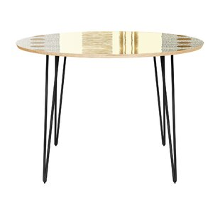 Holmquist Dining Table by Bungalow Rose No Copoun
