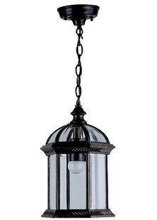 Deals Hausmann 1-Light Outdoor Hanging Lantern By Three Posts