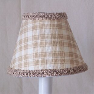Beach Shack Plaid 11 Fabric Empire Lamp Shade
