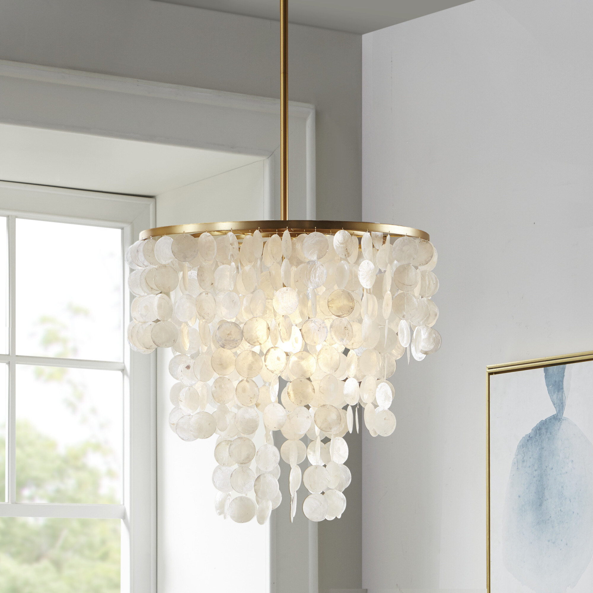 Shell Ceiling Lights You Ll Love In 2021 Wayfair