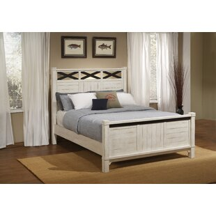 Saige Home Farmhouse Panel Bed by Red Barrel Studio