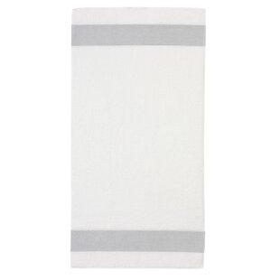 White Towels With Grey Trim Wayfaircouk