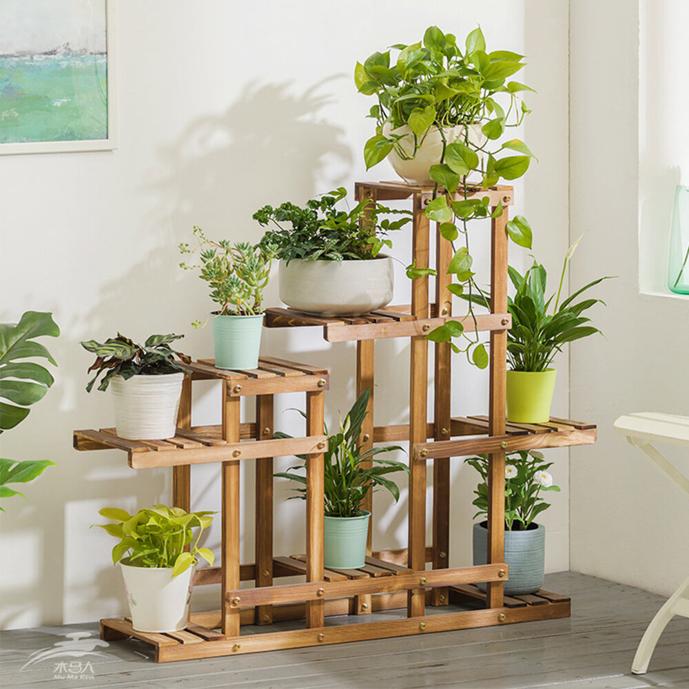 Freeport Park Alston Free Form Multi Tiered Plant Stand Reviews Wayfair