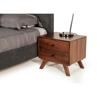 Compare Dollie 2 Drawer Nightstand by Corrigan Studio